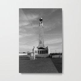 Memorial - Portsmouth & Southsea Metal Print