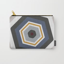 hexagon purple Carry-All Pouch