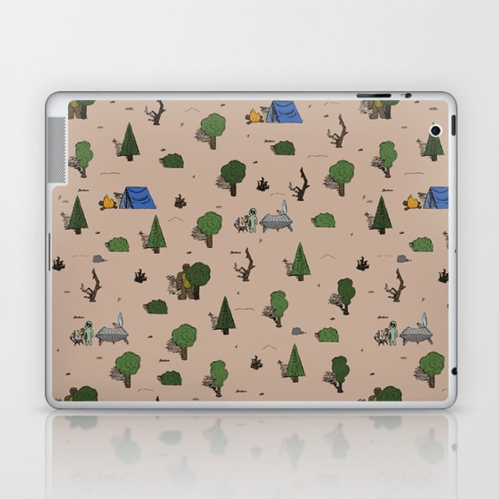 Cryptic Woodlands Laptop & iPad Skin