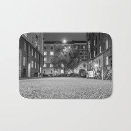 Urban Nature, Vesterbro, Copenhagen B&W Bath Mat