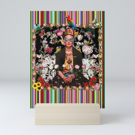 Frida OTT Kahlo You Are Too Much Mini Art Print