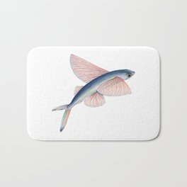 Flying Fish Bath Mat