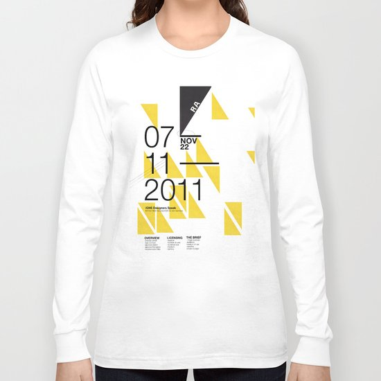 IGNS poster design Long Sleeve T-shirt
