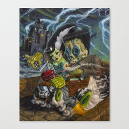 Monster ride. Canvas Print