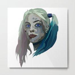 Margot Robbie - Harley Quinn Metal Print