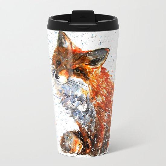 FOX Metal Travel Mug