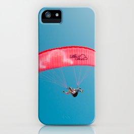 Paraglide parapente iPhone Case