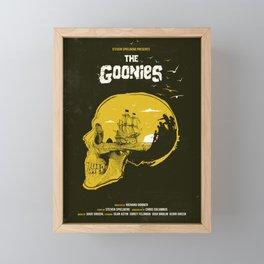 The Goonies art movie inspired Framed Mini Art Print