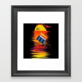 VINTA Framed Art Print
