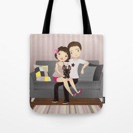 Little family Tote Bag