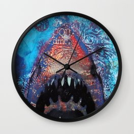 Great Whitey Wall Clock