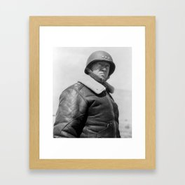 General George S. Patton Framed Art Print