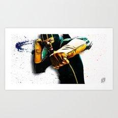 Dave Lizewski Art Print