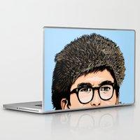 moonrise Laptop & iPad Skins featuring Moonrise by Jeroen van de Ruit