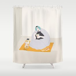 Gong bao Shower Curtain