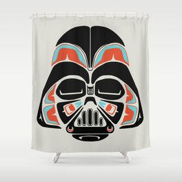 Death Mask - Alliance Is Rebellion - Darth Vader Shower Curtain