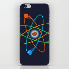 Atomic Structure iPhone Skin