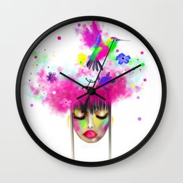 Exotic Dream Wall Clock