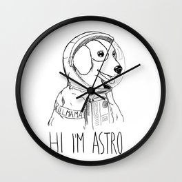 Hi I'm Astro - Killmama Wall Clock