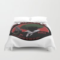 cowboy bebop Duvet Covers featuring Bebop Spike by AngoldArts