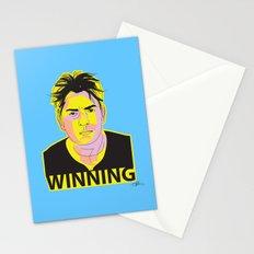 Charlie Sheen Winning_Ink Stationery Cards