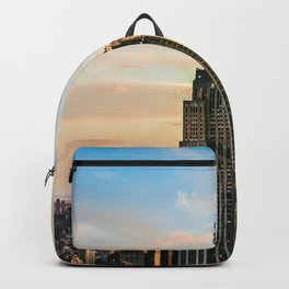 The Empire State Building in New York City (Color) Backpack