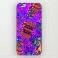 vertigo iPhone & iPod Skins featuring Vertigo by Lyle Hatch