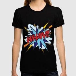 WHAM Comic Book Pop Art Cool Modern Graphic T-shirt