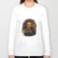 replaceface Long Sleeve T-shirts featuring Christopher Walken - replaceface by replaceface
