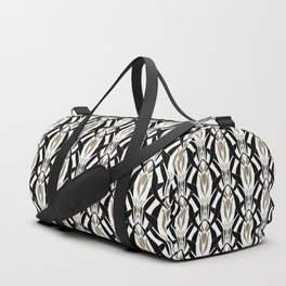 Abstract pattern retro ornament Duffle Bag