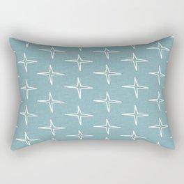 Nautical Star  light Blue #homedecor Rectangular Pillow