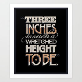 Wretched Height Art Print