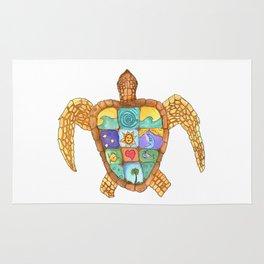 Sunny Sea Turtle Rug