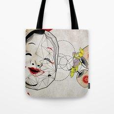 J_mask Tote Bag
