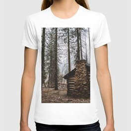 Mystic Log Cabin T-shirt