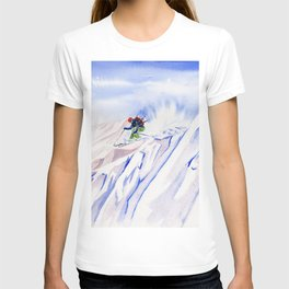 Powder Skiing T-shirt