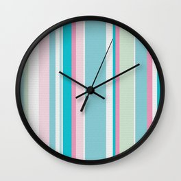 Earn Your Stripes Wall Clock
