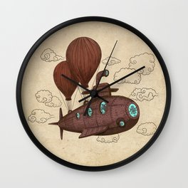 The Fantastic Voyage Wall Clock