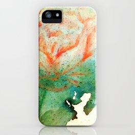 Underwater Flower iPhone Case