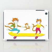 skate iPad Cases featuring Skate by Matthias Leutwyler