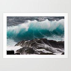 Gran Canaria, Wild Island Art Print