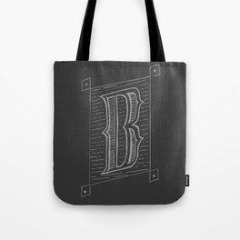 The Letter B Tote Bag