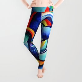 Hurricanes of the Mind Leggings