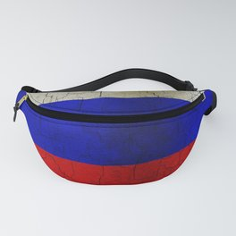 Grunge Russia flag Fanny Pack