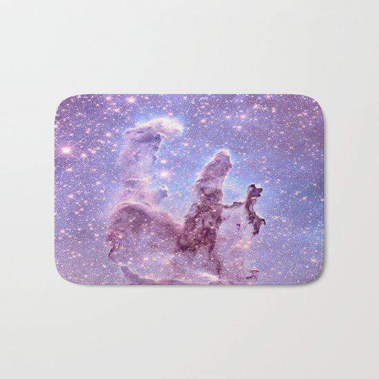 Subtle Space : Pillars of Creation Nebula Bath Mat