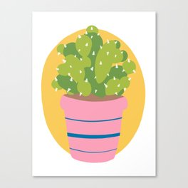 Cacti dude Canvas Print