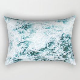 Sea foam Rectangular Pillow