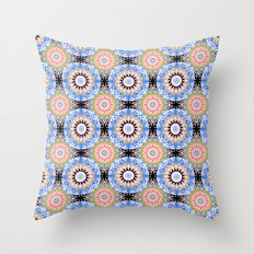 Ethnic Oriental ornament .1 Throw Pillow