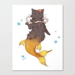 Catmaid Canvas Print