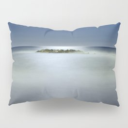 """The rock island under de moonlight"" Pillow Sham"